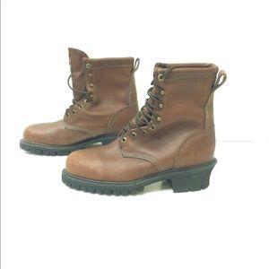 Carolina Vibram men's boots size 8